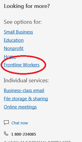 Office 365 Licenses–> Kiosk to Frontline is it close